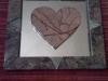 Stone Heart Mirror