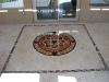 Shell Stone Patio Medallion